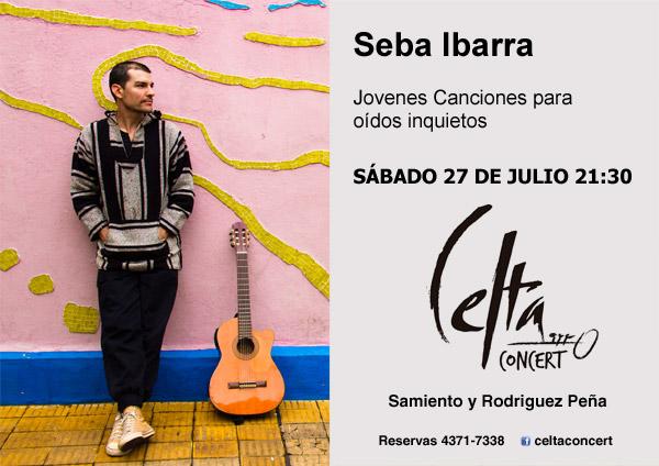 Seba Ibarra en Celta Concert